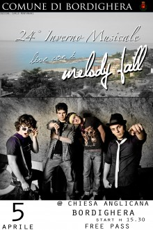 Melody Fall: il concerto